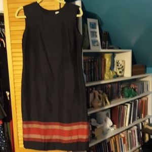 Silk sheath dress size 10